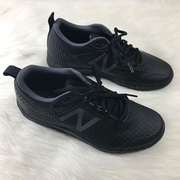 e29a34fa5e2e5 Mens New Balance All Black Fresh Foam 806 Sneakers